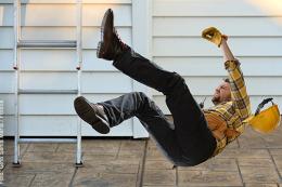 Achtung Unfallgefahr - Achtung Sturzgefahr - ein Bericht zum Thema Unfallgefahren: auf Gehflächen und Treppen passieren oft Unachtsamkeiten die man übersieht.